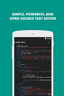 Turbo Editor ( Text Editor ) - screenshot thumbnail