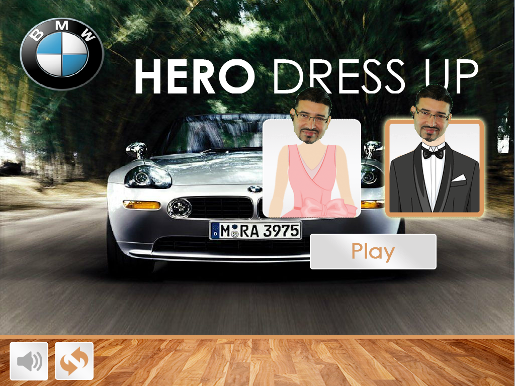 Hero Dress Up- screenshot