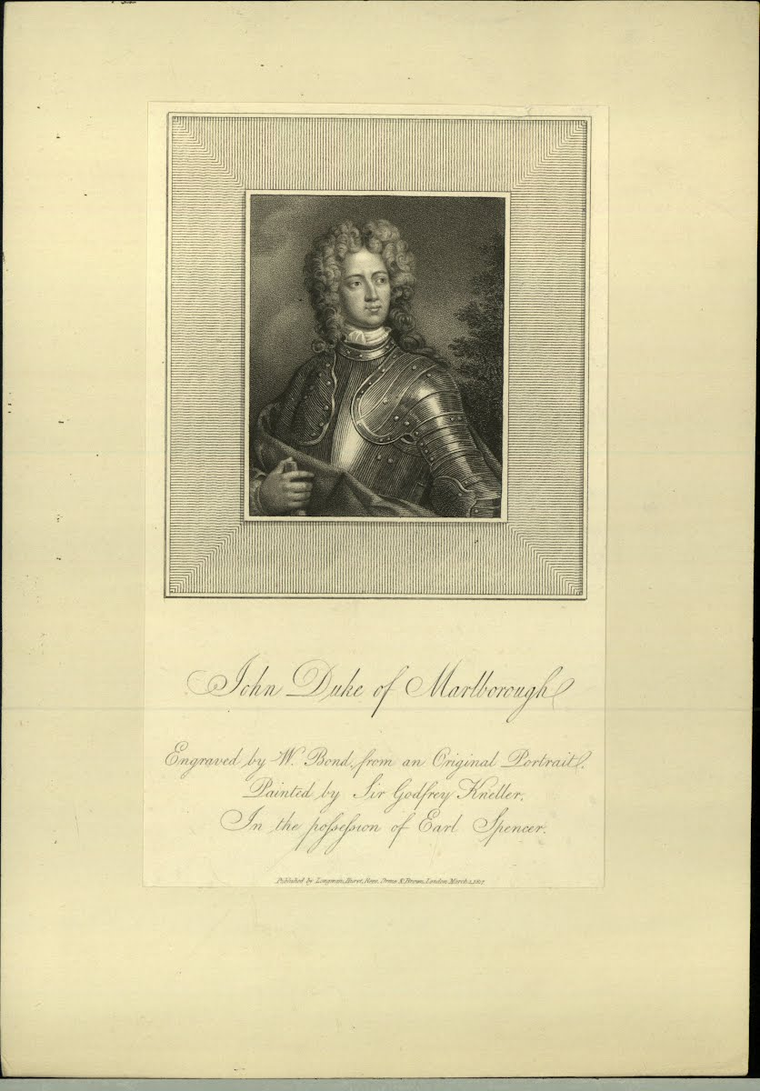 Marlborough Joren Churchill 1St Duke 1650-1722