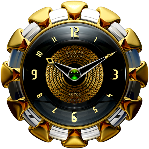 ROYCE Luxury Clock Widget