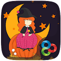 HalloweenWitch GOLauncherTheme icon