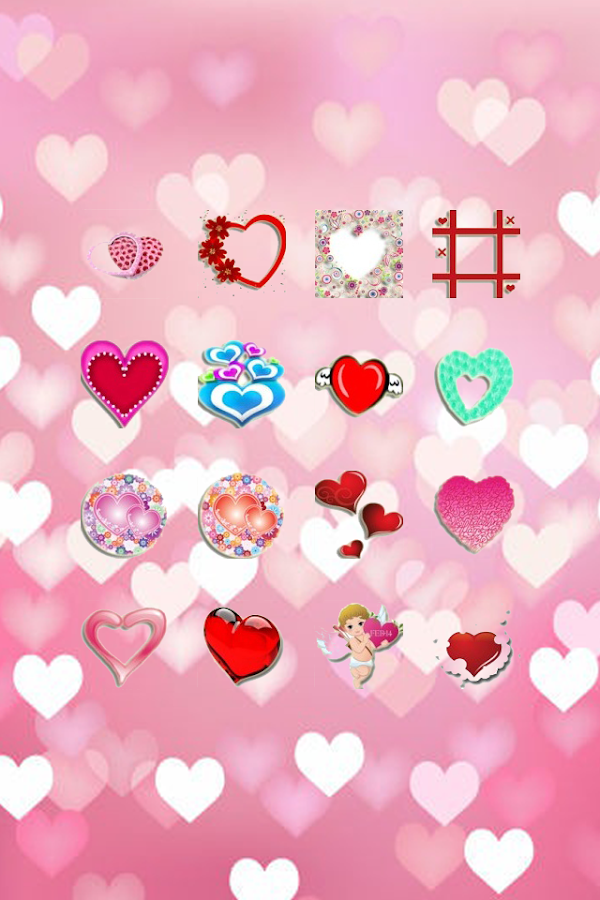 Sticker Valentine's - screenshot