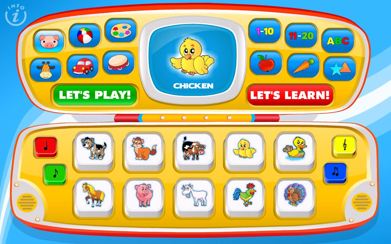 Kids Toy Phone Learning Games - screenshot