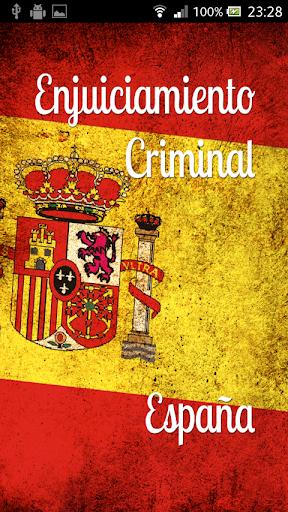 Enjuiciamiento Criminal España