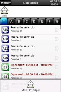 Rutas Transmilenio- screenshot thumbnail