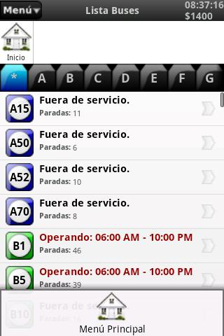 Rutas Transmilenio- screenshot