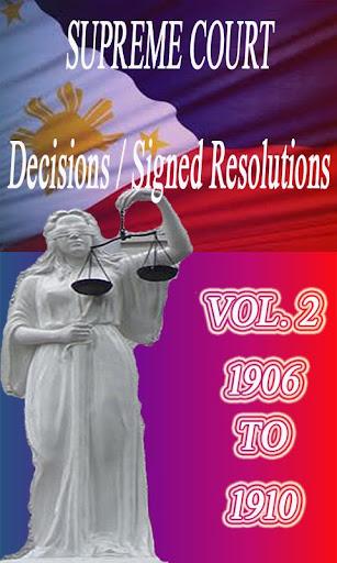 Phil Supreme Court Vol. 2