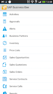 SAP Business One - screenshot thumbnail
