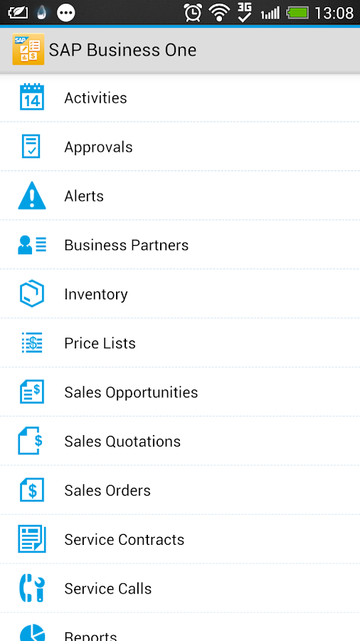 SAP Business One - screenshot