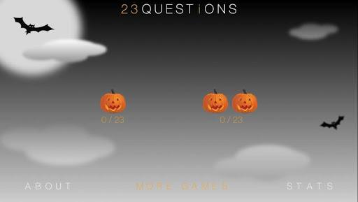 23 Questions Halloween