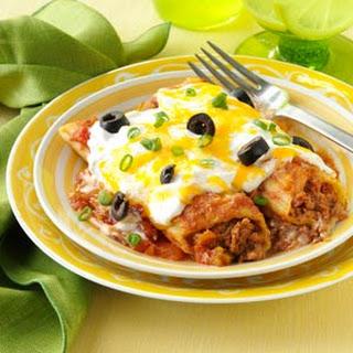 Mexican Manicotti.
