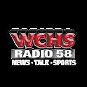 58 WCHS-AM logo