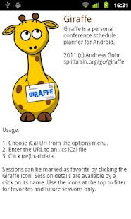 Giraffe- screenshot thumbnail