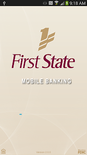 First State Bank TN - Mobile - screenshot thumbnail