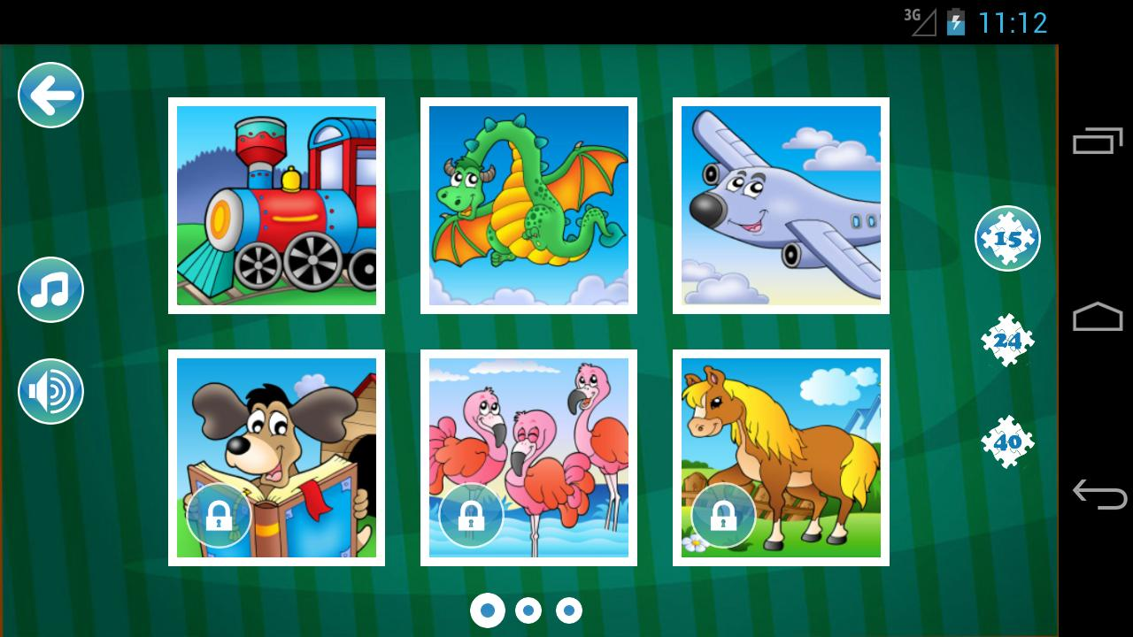 Jigsaw Puzzles for Kids LITE - screenshot