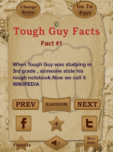 Tough Guy Facts : 2000+ jokes