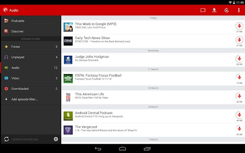 Pocket Casts 4.5.8