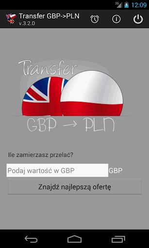 Transfer GBP -> PLN