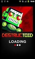 Screenshot of Destructoid