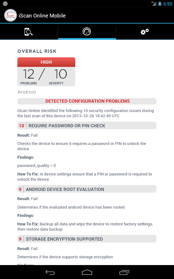 Mobile Security & Compliance - screenshot