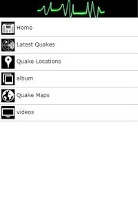 Earthquake News screenshot 0