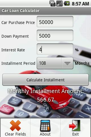 Car Loan Calculator - Android Apps On Google Play