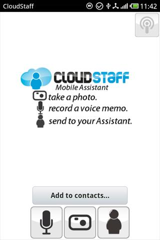CloudStaff Mobile Assistant - screenshot