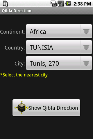 Qibla Direction - screenshot