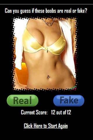 Real or Fake Breasts - FREE - screenshot
