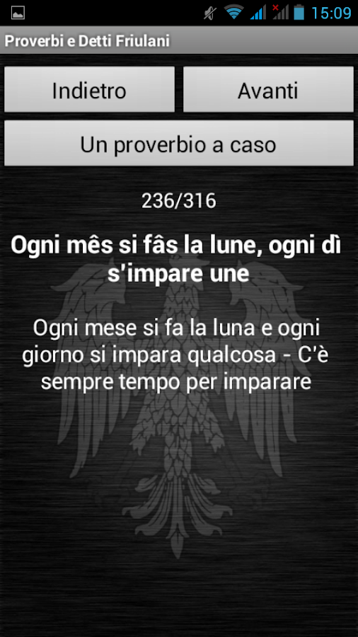 Proverbi Friulani- screenshot