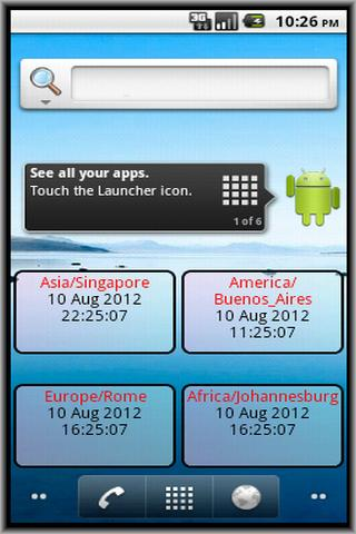Check World Times- screenshot