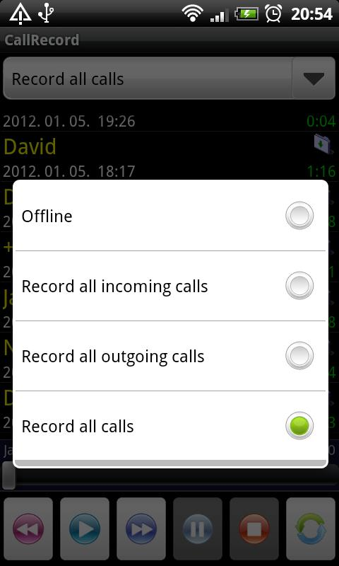 Call Record Free - screenshot