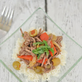 Slow Cooker Cuban Beef.