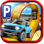 3D Monster Truck Parking Game