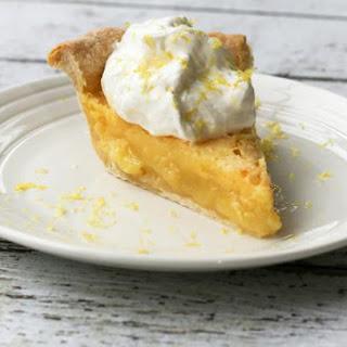 Classic Lemon Chess Pie