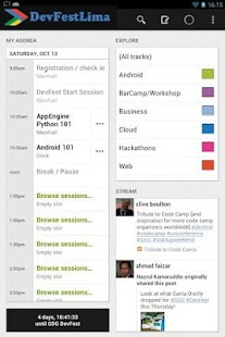DevFest Lima 2012 - screenshot thumbnail