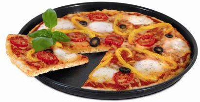 Bandeja de pizza para microondas