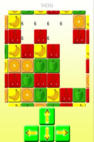 Move the fruit - screenshot