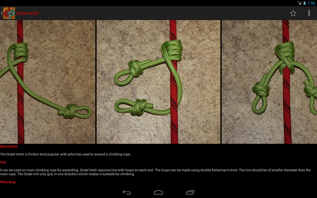 Useful Knots - Tying Guide- screenshot