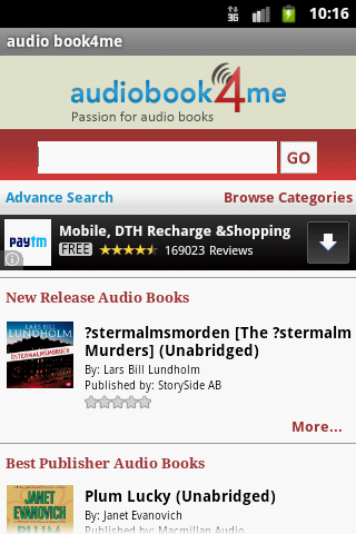 Audiobook4me – Buy Audio Books
