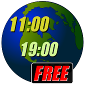 World Clock Widget 2016 Free