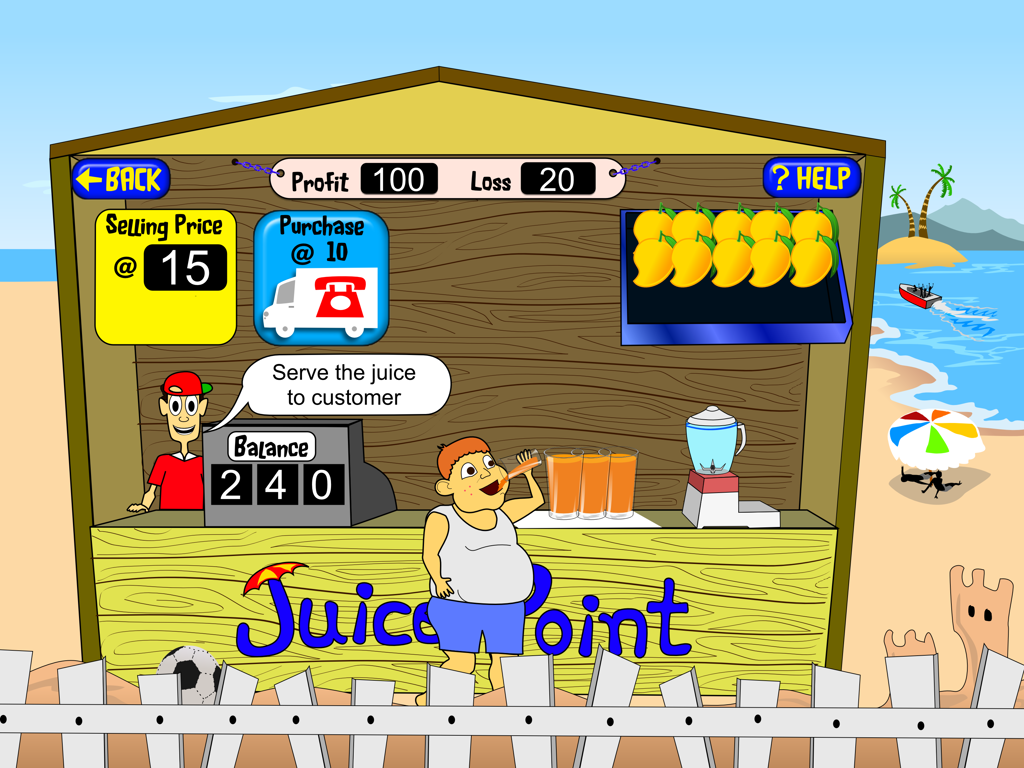 Fruit O Profit- screenshot