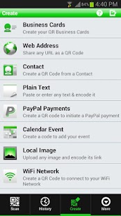 QR Droid Private™ (Polski) - screenshot thumbnail