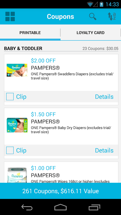 Coupons.com Coupons & Codes - screenshot