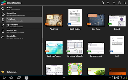 OfficeSuite Pro + PDF Screenshot 34