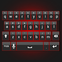 Sleek Red Keyboard Skin icon