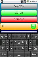 Screenshot of Palabras Encadenadas Lite