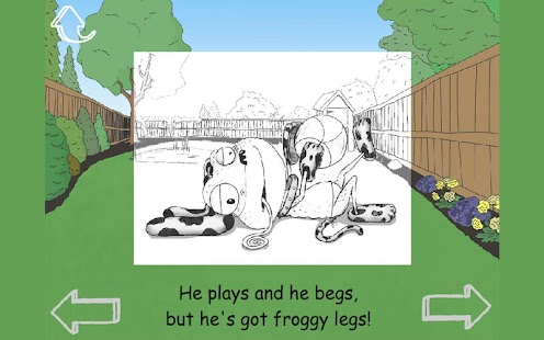 Mr Frog The Neighbours Dog- screenshot thumbnail
