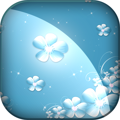 Live Wallpaper Flowers LOGO-APP點子