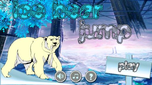 ice bear jump